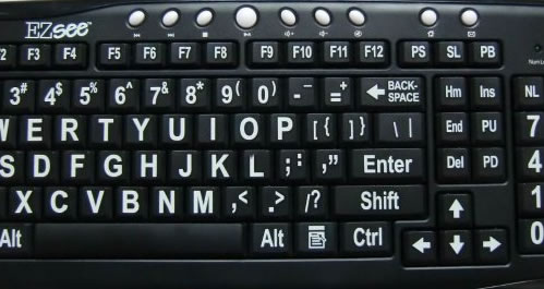 Keyboards For Visually Impaired